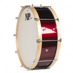 NP Bass Drum 60x20 Red Wine