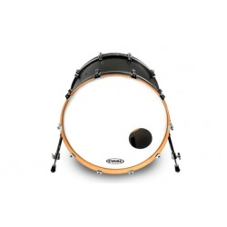 "Evans 22"" EQ3 Reso Smoth White BD22RSW"