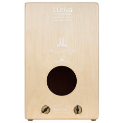 LEIVA PERCUSSION Cajon Alma White