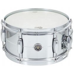 Gretsch GB4165S Brooklyn Chrome Over Steel 10x5""
