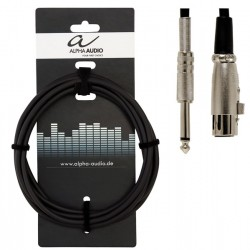 Alpha Audio Cable Micro Jack XLR 9 Metros