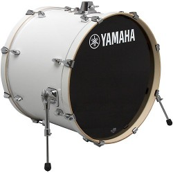 Yamaha Stage Custom Birch Bombo 22x17 Pure White