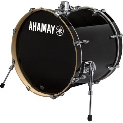 "Yamaha Stage Custom Birch Bombo 18x15"" Raven Black"