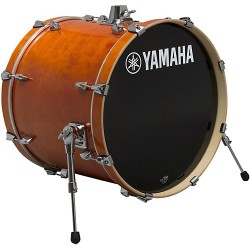 "Yamaha Stage Custom Birch Bombo 24x15"" Honey Amber"