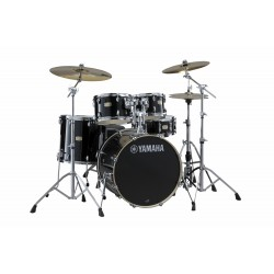 YAMAHA Stage Custom Birch Studio Raven Black + HW680W