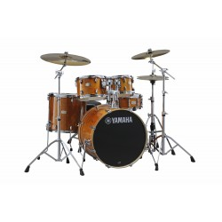 Yamaha Stage Custom Birch Studio Honey Amber + HW680W