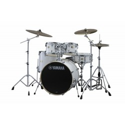 YAMAHA Stage Custom Birch Studio Pure White + HW680W