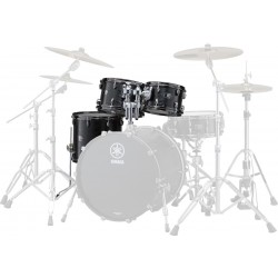 Yamaha Live Custom Set Toms Black Wood