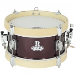 LD Percussion Marching Drum Chicotá 25x12 cms Red Wine