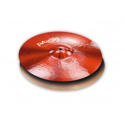 "Paiste Hi Hat 15"" 900 Color Sound Rojo Heavy"