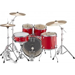 Yamaha Rydeen Studio Hor Red + Set Platos Paiste