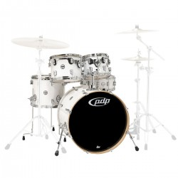 PDP by DW Concept Maple CM5 Studio Pearlescent white
