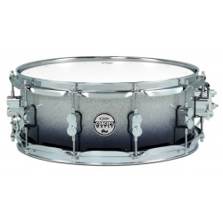 PDP Concept Maple Silver to Black Sparkle Fade 14x5,5""
