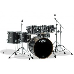 PDP by DW Concept Maple CM7 Black Sparkle