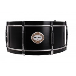 "NP Snare Drum Arahal 14"" Black"