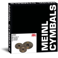 Meinl Set Platos Classics Custom Dark CCD141620M