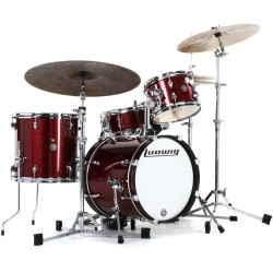 Ludwig Breakbeats Questlove Wine Red Sparkle