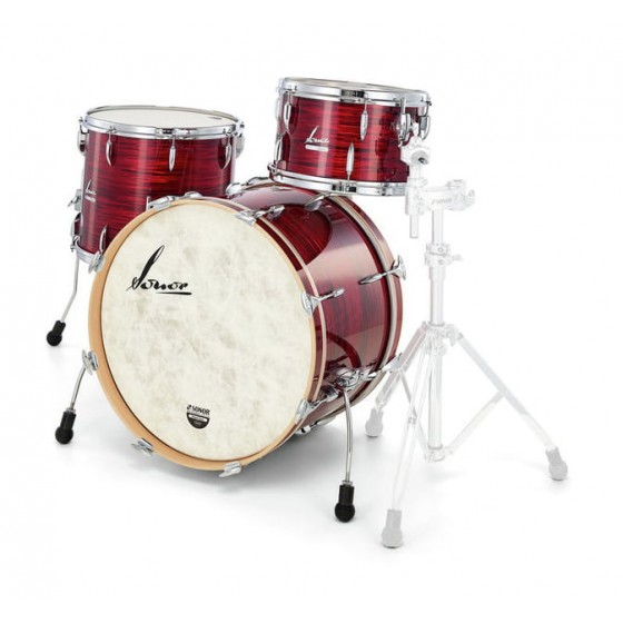 Sonor VT Three22 Shells NM Vintage Red Oyster