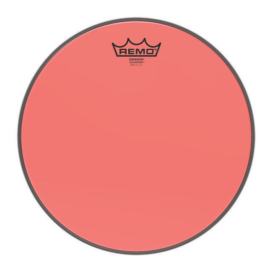 Remo 10 Emperor Colortone Red BE-0310-CT-RD