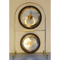 """Tone of Life Arched Double Gong Stand 36"""""""