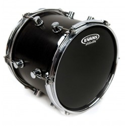 "Evans 08"" Genera Resonant Black TT08RBG"