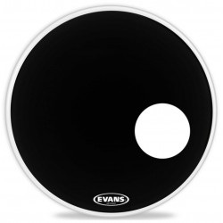 "Evans 24"" EQ3 Reso Black BD24RB"