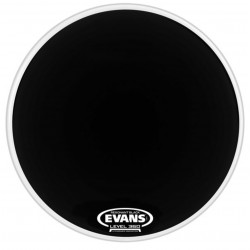 "Evans 18"" Resonant Black BD18RBG"