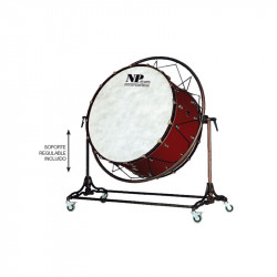 NP Bass Drum Concert Cover Old 80x50 cms Cereza