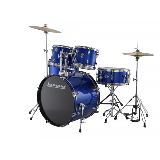 Ludwig Bateria Accent Drive LC175 Blue