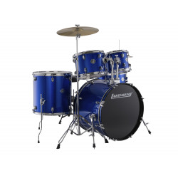 Ludwig Drumset Accent Fuse LC170 Blue