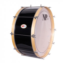 NP Bass Drum 66x25 cms Black