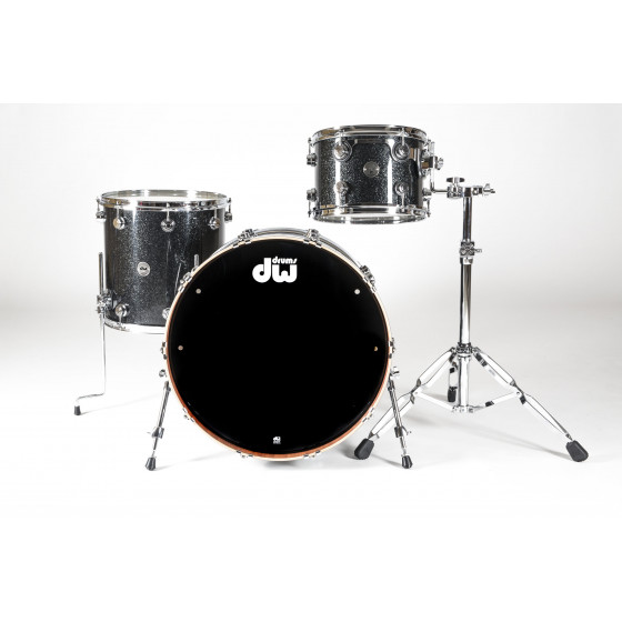 DW Collector Rock Finish Ply Black Ice