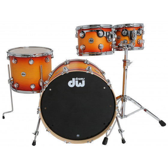 DW Collector Maple Standard Satin Especiality Classic Burst