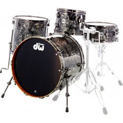 DW Contemporary Classic Standard Finish Ply Silver Abalone