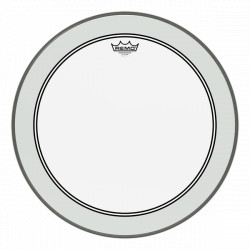 "Remo 13"" Powerstroke 3 Clear P3-0313-BP"