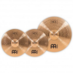 Meinl Set Platos HCS Bronze Basic HCSB1418