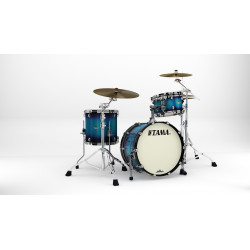 Tama MA30CMBNS-MEB Starclassic Maple Molten Electric Blue Burst / Black Nickel Hardware
