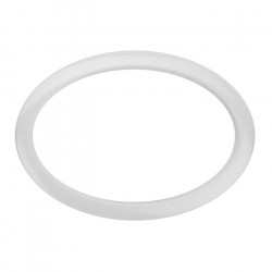 """Bass Drum O's Bass Drumport 06"""" Oval White"""