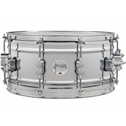 """PDP by DW Concept Chrome Over Steel 14x6.5"""""""