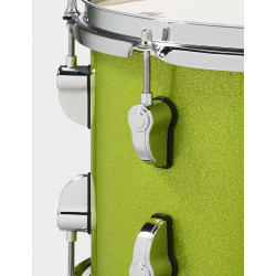 PDP by DW New Yorker Set Electric Green Sparkle