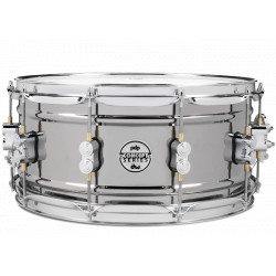 """PDP by DW Black Nickel Over Brass 14x6.5"""""""