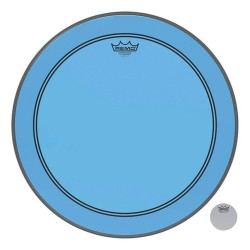 "Remo 22"" Powerstroke 3 Colortone Blue P3-1322-CT-BU"