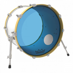 "Remo 20"" Powerstroke 3 Colortone Blue P3-1320-CT-BUOH"