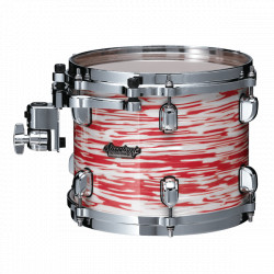 Tama Starclassic Maple Standard Rock Red & White Oyster (Cromado)