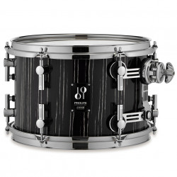 "Sonor Tom Pro Lite Tom 10x08"" Ebony White Stripe"