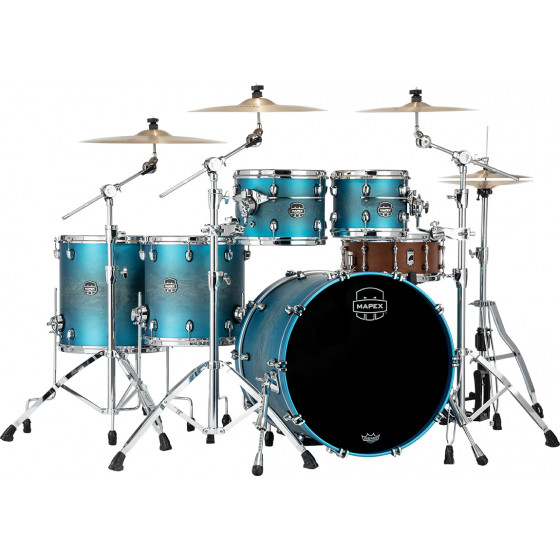 Mapex Saturn Evolution Standard Rock Azure Burst