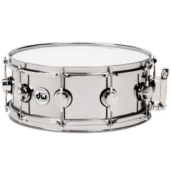 DW Collector Stainless Steel 14x6.5""