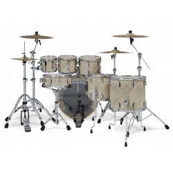 PDP by DW Concept Maple CM7 Twisted Ivory + Set Herrajes