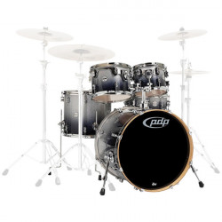 PDP by DW Concept Maple Studio Silver to Black