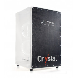 Leiva Percussion Cajon Omeya Crystal